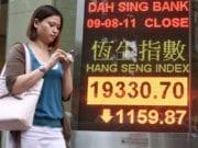 中国经济 亚洲股市