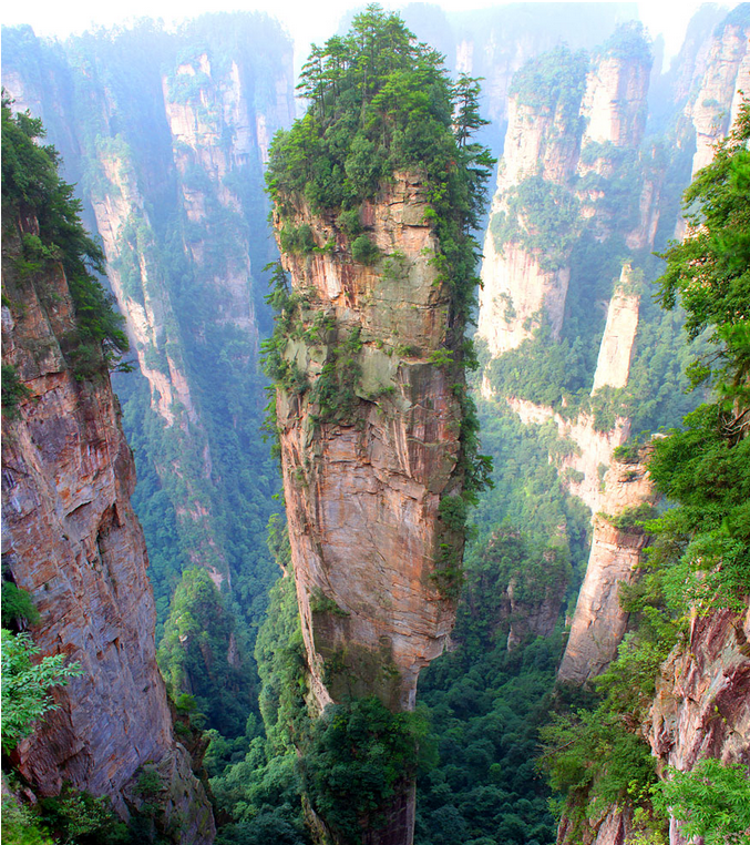 世界风情 中国天子山