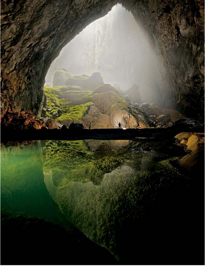 世界风情 山水洞
