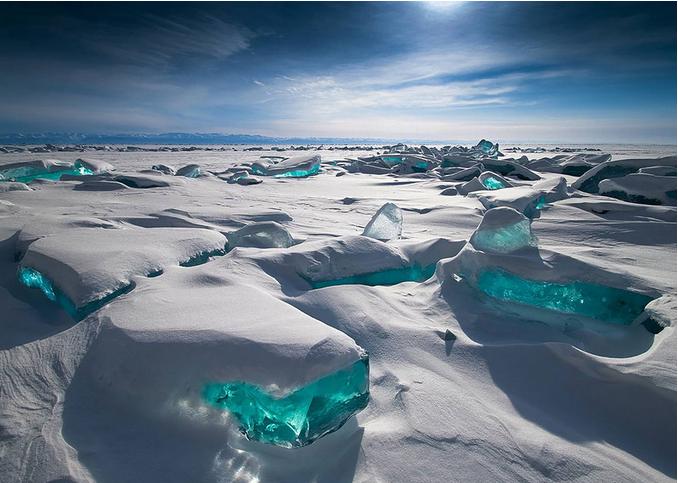 世界风情 贝加尔湖