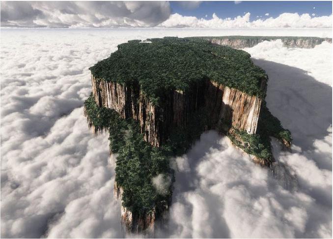 世界风情 罗赖马山