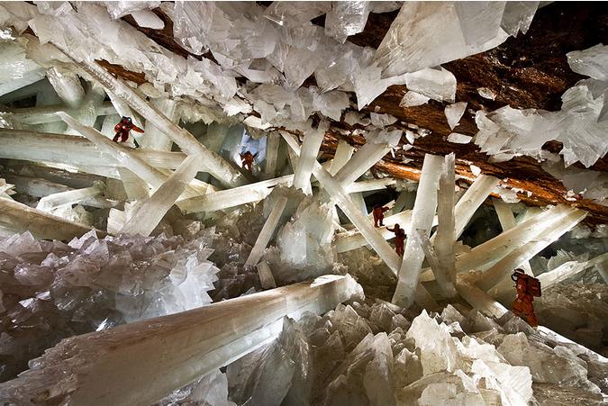 世界风情 水晶洞