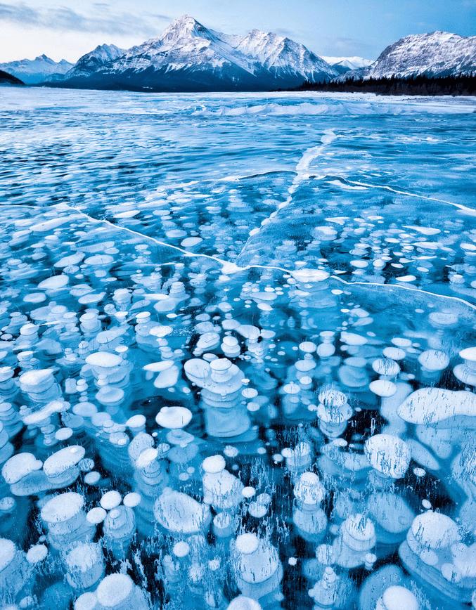 世界风情 亚伯拉罕湖