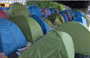 巴黎 难民营