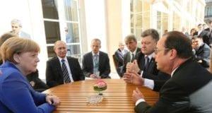法、德、俄、乌元首爱丽舍宫圆桌谈和平