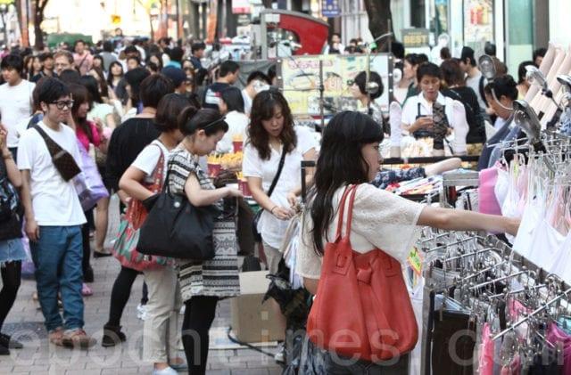 中国游客 购物 华人