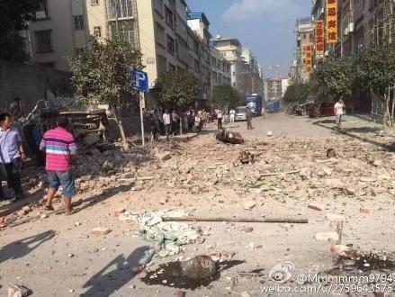 广西 柳城 暴涨
