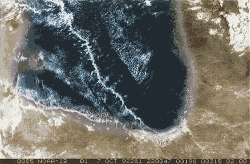 澳洲 天象 卡奔塔利亚湾 怪云