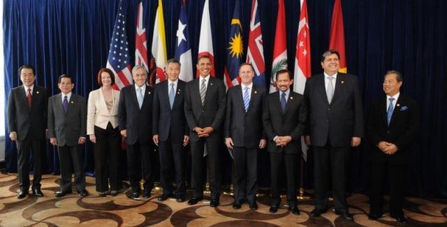 泛太平洋战略经济伙伴关系协定(TPP)