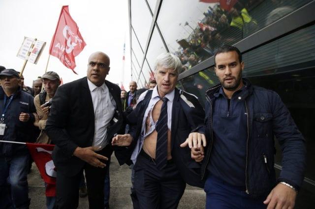 法国罢工 法航