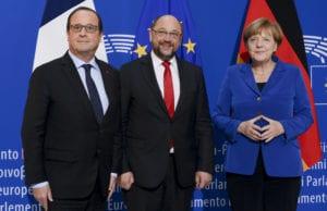 德法领袖欧议会演说