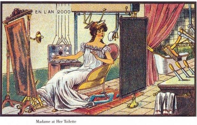 1900年人们心目中的2000年生活方式