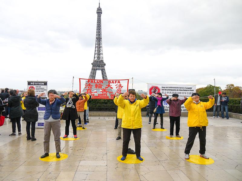 巴黎 艾菲尔铁塔 讲真相