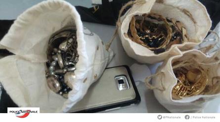 法国 内政部 警方 盗窃 珠宝 黄金