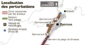 法国 地图 高速公路 A404