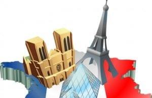 法国 地图 经济竞争