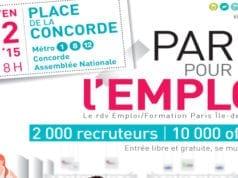 巴黎招聘会 人才市场