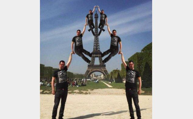巴黎旅游 艾菲尔铁塔