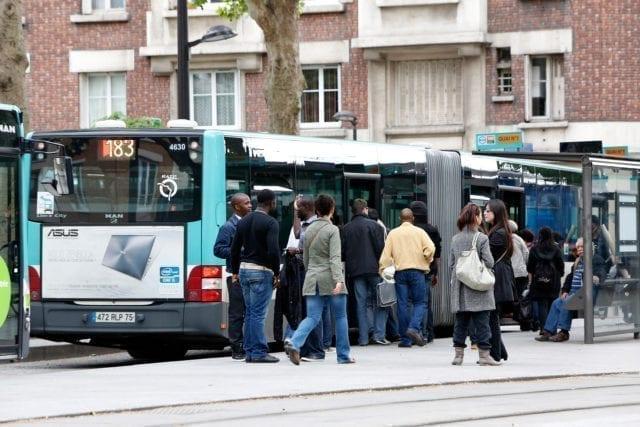 巴黎 交通 公交