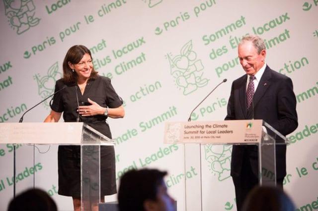 巴黎 COP21 国际气候峰会 市长