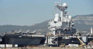 巴黎恐怖袭击 法国航母舰 攻打IS