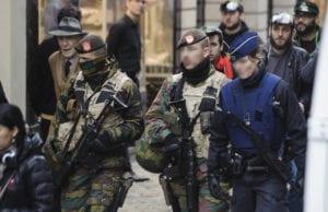 巴黎恐怖袭击 比利时