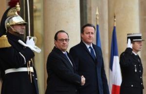 巴黎恐怖袭击 反恐 英国首相