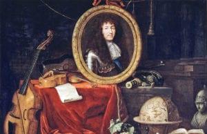 Jean Garnier,寓意画,路易十四保护艺术与科学