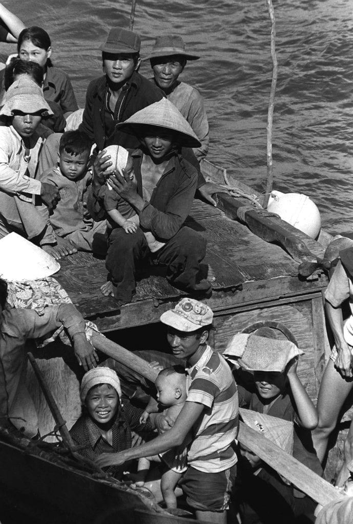 法国 哲学家 安德烈∙格鲁克斯曼(André Glucksmann)越南 难民