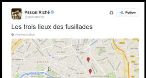 巴黎 枪击 地图