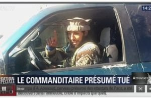 巴黎恐怖袭击 主谋阿巴伍德