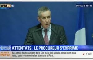 巴黎恐怖袭击 检察官 莫林斯