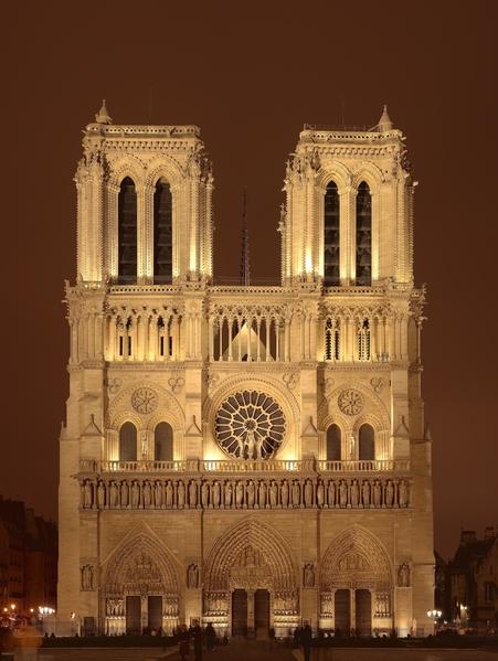 巴黎圣母院(维基百科)