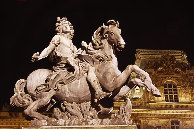 骑马的路易十四