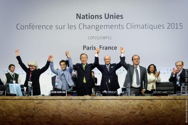 巴黎 气候峰会 COP21