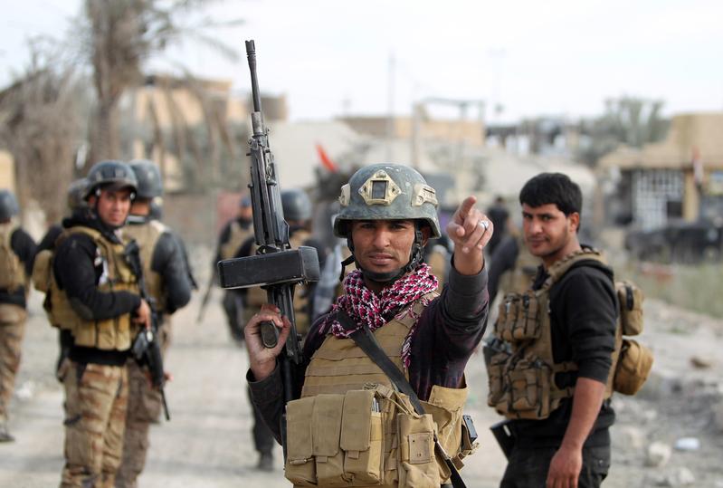 伊拉克攻陷IS
