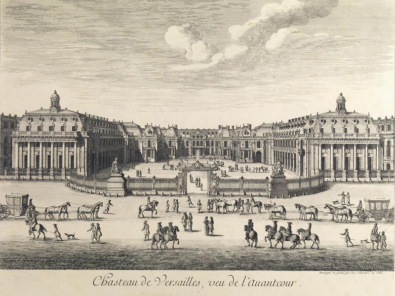 1682年的凡尔赛宫