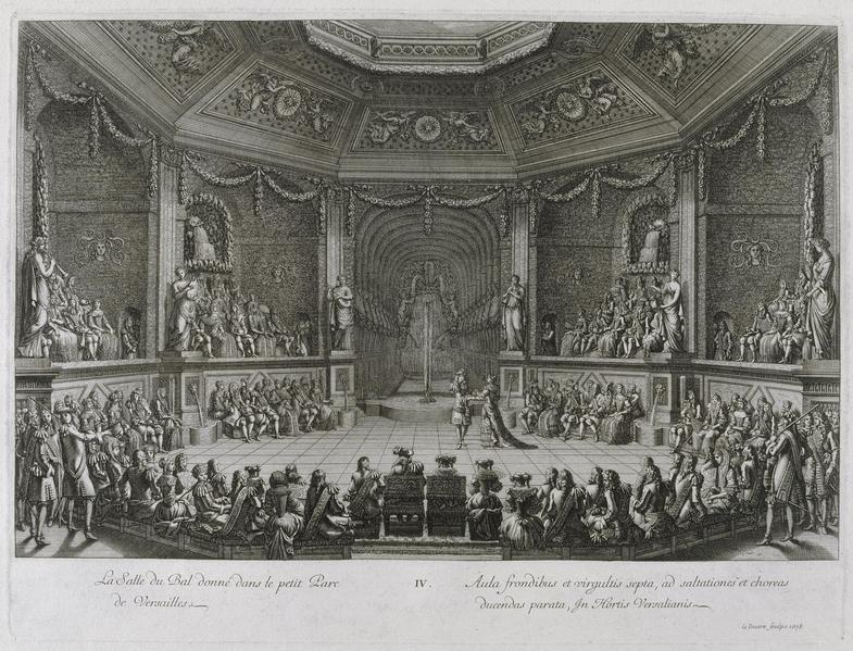 凡尔赛宫铜版画