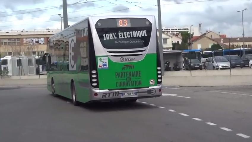 巴黎 公交 电动公交