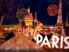 法国 巴黎 新年 2016
