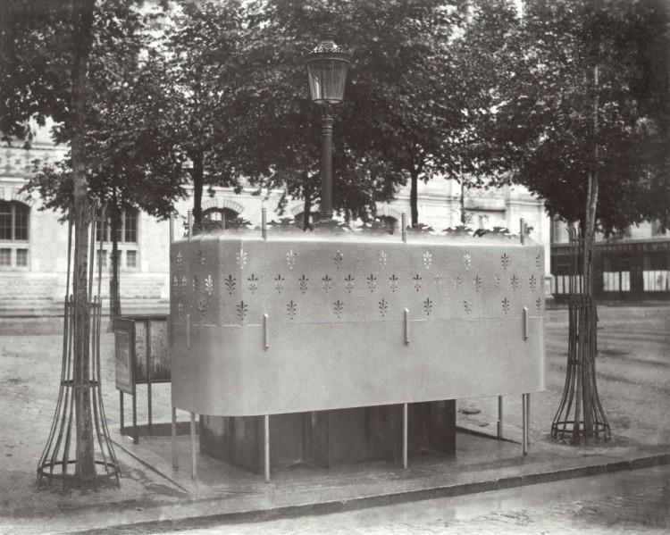 巴黎 19世纪 小便处