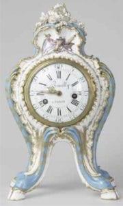 蓬皮杜夫人的座钟。(© Musée du Louvre, dist. RMN-GP/Martine Beck Coppola)