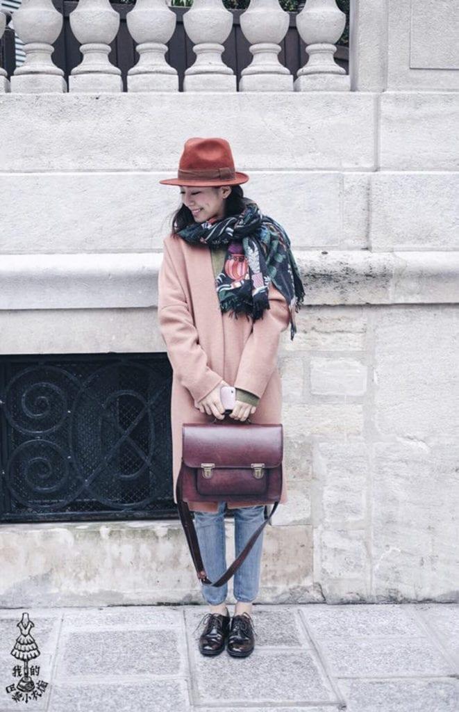 巴黎 时尚 皮包