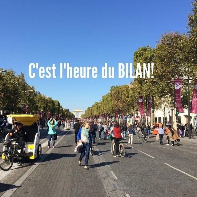 巴黎 香榭丽舍大道 步行道