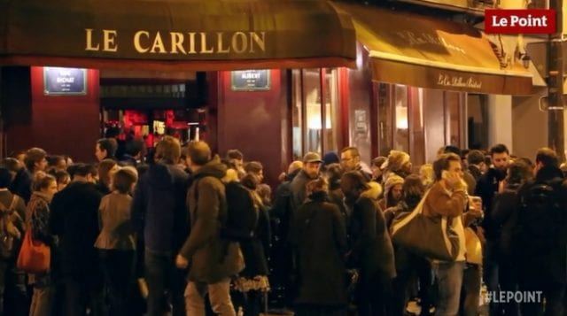 巴黎 恐怖袭击 酒吧