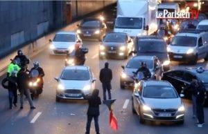 法国 出租车 罢工