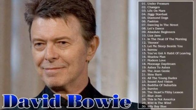 英国摇滚歌手大卫・鲍伊逝世 享年69岁