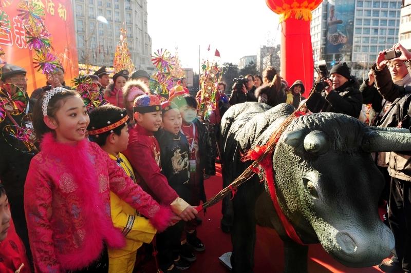 中国文化 新年 立春