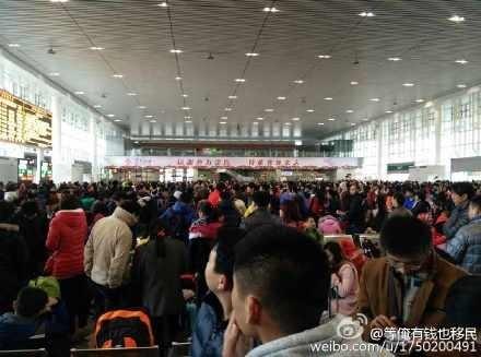 中国 大陆 过年 客运