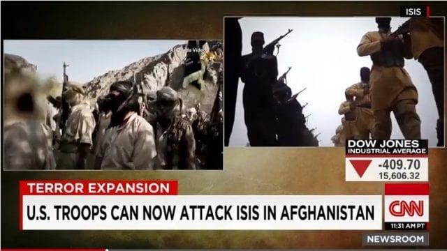 IS 阿富汗 恐怖组织